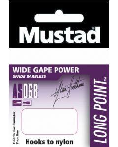 Mustad AS06B Size 18 HTN